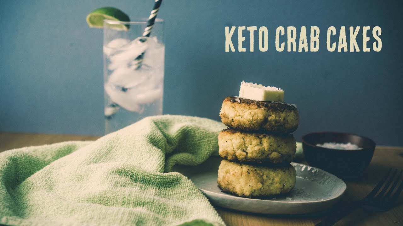 Keto Crab Cakes - Gluten Free - Simple Ingredients - YouTube