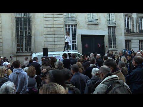 Manifestations pro et anti-PMA à Paris