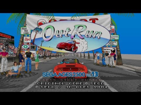 OutRun - Sega AGES 2500 Vol 13 (Arranged mode - Right sided route)