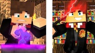 Minecraft: ESCOLA DE MAGIA -  (Harry Potter) O Mundo Bruxo !!! #01