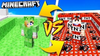 TNT VS SLIME - MINECRAFT | Vito VS Bella