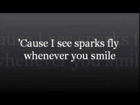 Sparks Fly - Taylor Swift Lyrics