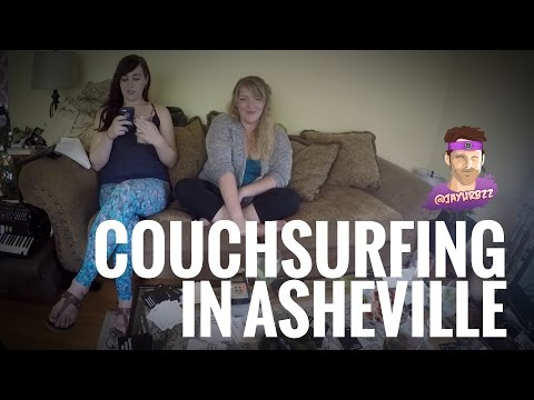 Couchsurfing in Asheville, North Carolina