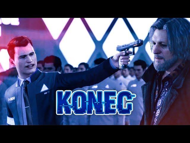 KONEC - Detroit: Become Human CZ s Míšou #12
