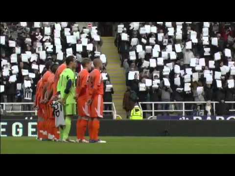 Newcastle United Tribute To Gary Speed