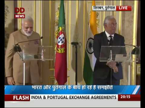 PM Modi launches India-Portugal International Start-Up Hub in Lisbon