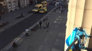 Merseyside Police Block the public highway