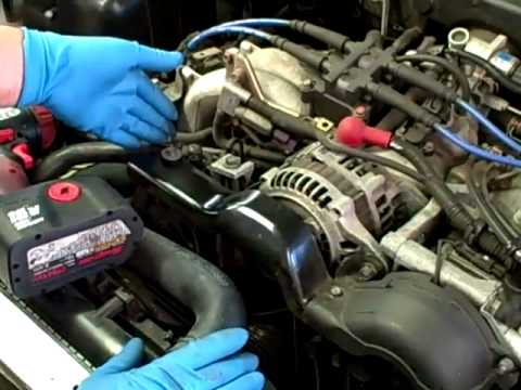 Subaru Power Steering Noise Fix - YouTube