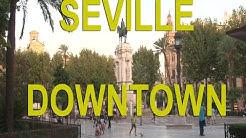 Seville, Spain, walk in the center