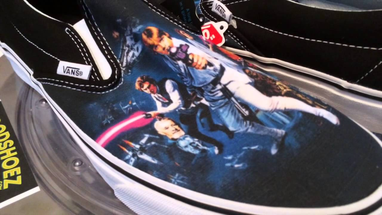 b004fdfbc3cc69 Vans x Star Wars Classic Slip-On - A New Hope - general release - 6 ...