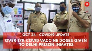 Covid-19 Updates: Over 17K Covid Vaccine Doses Given To Delhi Prison Inmates