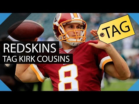 Redskins give Kirk Cousins Exclusive Franchise Tag