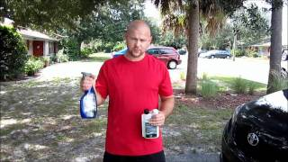 How to Properly Remove Love Bug guts from your paint using Ultima Waterless Wash Concentrate and microfiber towels Garry Dean Tampa, FL Detailing Ferrari BMW polishing