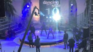 DWTS! FLO RIDA- VAL and THE DWTS PRO MALE DANCERS IN REHEARSAL