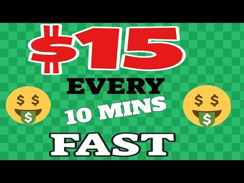 Make $15 Every 10 Mins Fast ! (Make Money Online)