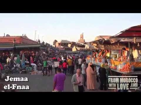 Top places visit and things to do in Marrakech