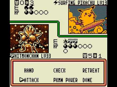 Game Boy Color Longplay [020] Pokemon Trading Card Game