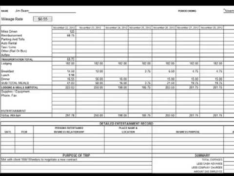 CreatingAuditing Expense Reports  Youtube