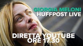 Giorgia Meloni ad HuffPost Live