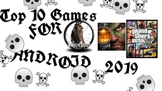 Top 10 Games For Android 2019  Open World Games  Like Grand Theft Auto V.