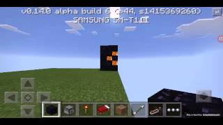 Cara Membuat Senjata Api Dari Dispenser Di Minecraft PE Sederhana