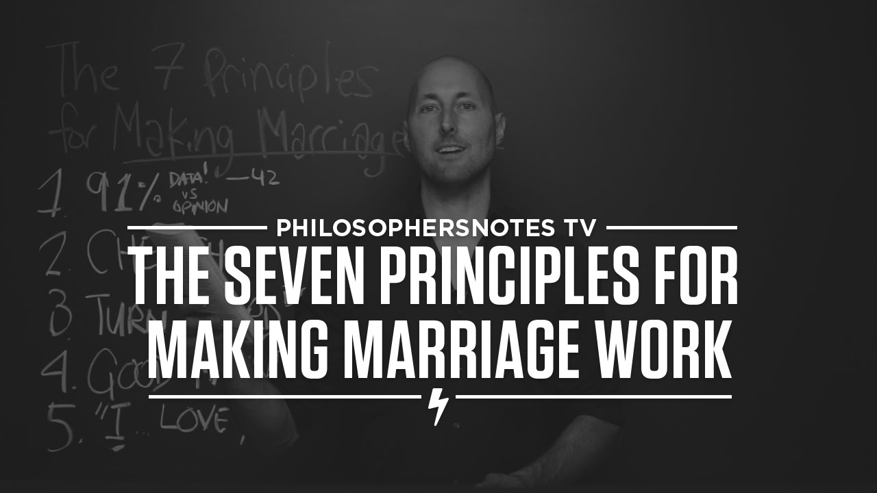 PNTV: The Seven Principles for Making Marriage Work by John Gottman (#299)