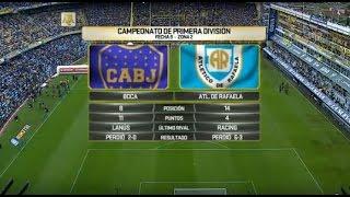 Boca Juniors vs Atl. Rafaela full match