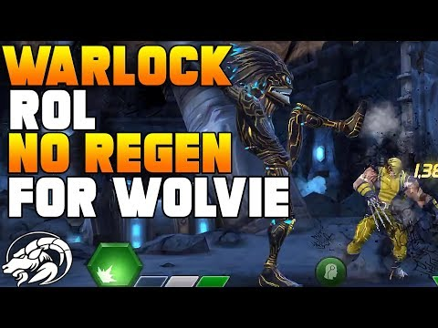 Warlock Vs Wolverine Realm of Legends | Marvel Contest Of Champions
