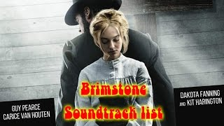 Brimstone  Soundtrack list