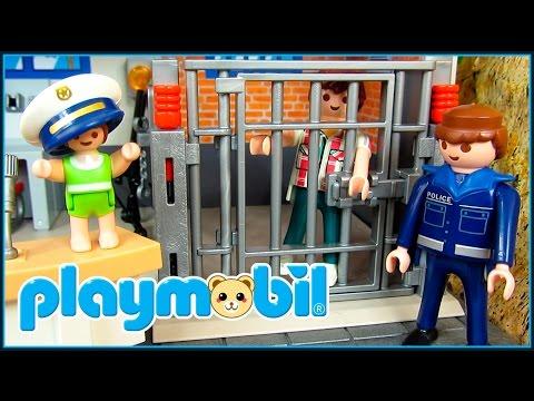 playmobil-12-|-el-papá-de-leo-va-a-la-cárcel.-el-bebé-leo-la-vuelve-a-liar-😆-playmobil-en-español