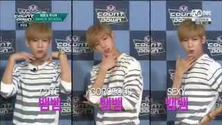[HD] 150702 Junior & BamBam (GOT7) MC Cut @ M! Countdown