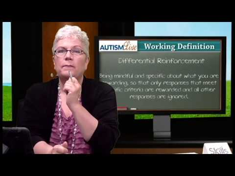 Autism Jargon: Differential Reinforcement