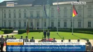 President Barack Obama visits Germany