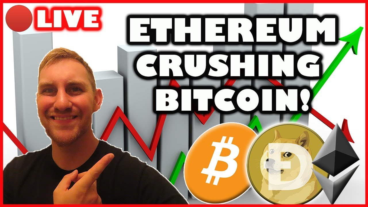 Download BITCOIN DIPPING! ETHEREUM PUSHING $3,400! (Bitcoin Live)