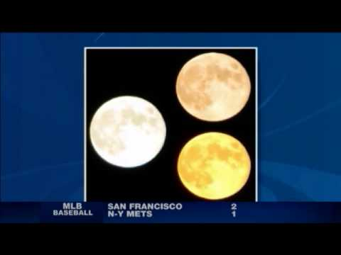 Why Does The Moon Change Color?