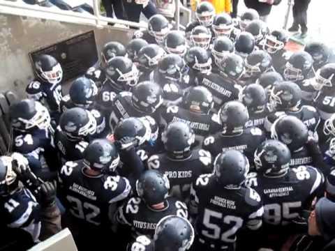 UNBSJ Seawolves Football - 2010 - Pre-Game Chant (We Ready)