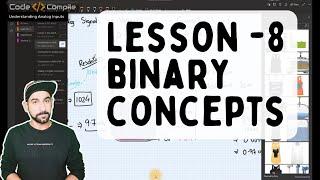 Lesson 8.0 - Binary Concepts in PLC (Hindi)