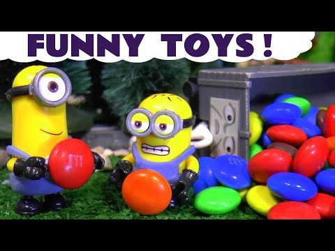 Thumbnail: Bad Minions steal Candy Train Accident Johny Johny Yes Papa Learn Colors Nursery Rhyme for kids TT4U