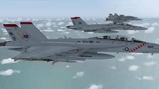 FS2004 - Boeing F/A-18E/F Super Hornet