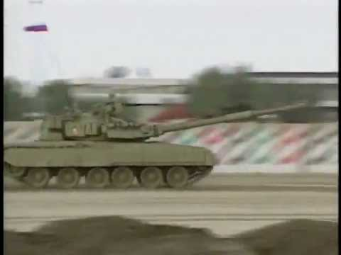 T-80U, T-84, T-72 Demonstration Т-80У, Т-84, Т-72 демонстрация