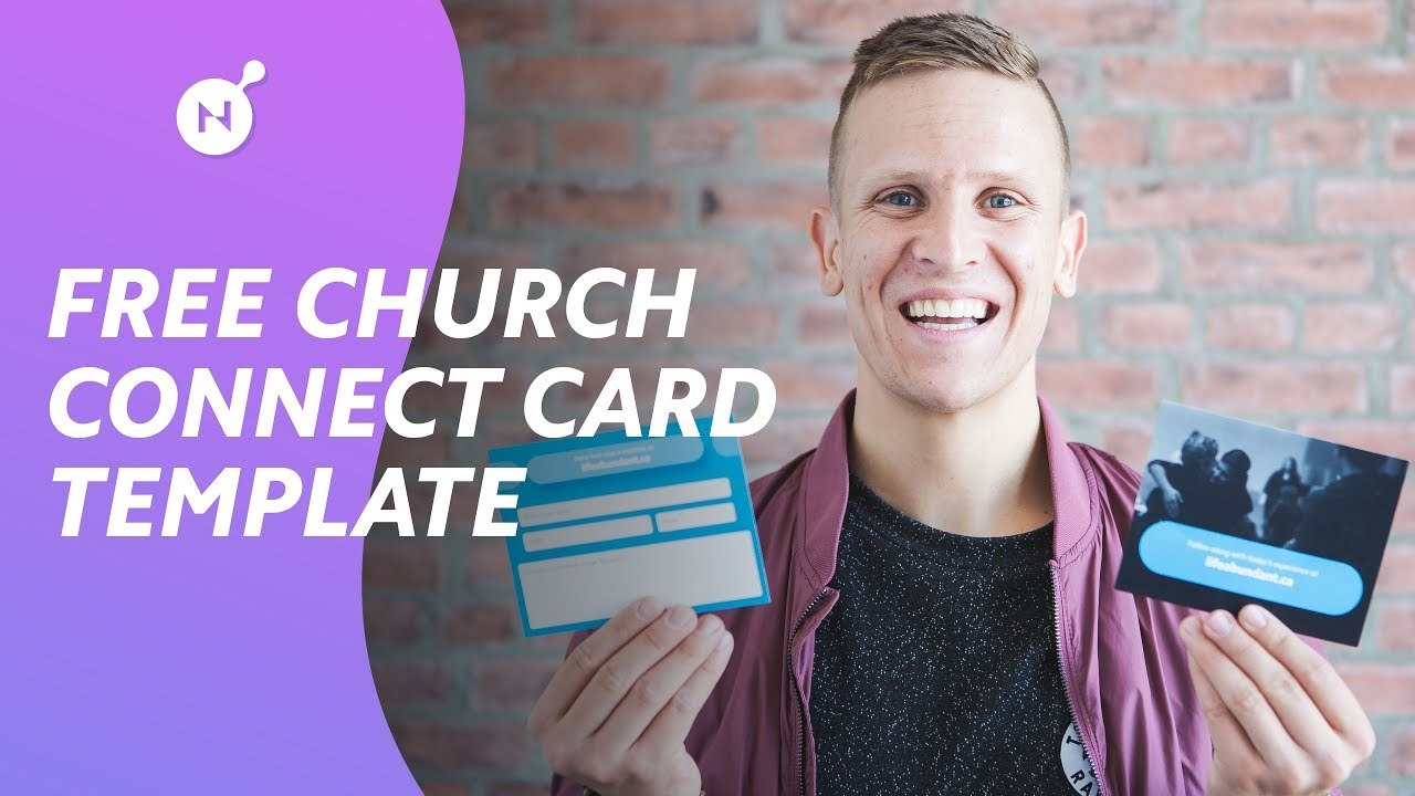 Ultimate Church Connect Card Template [FREE DOWNLOAD] Within Church Visitor Card Template Word