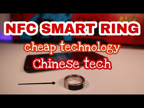 NFC Smart Ring. Cheap Technology, Chinese Tech