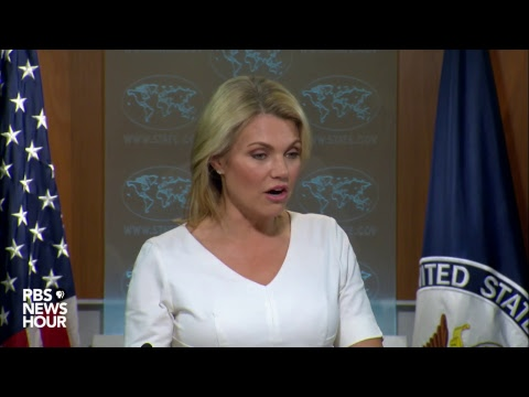WATCH: State Dept. news briefing after new North Korea sanctions issued