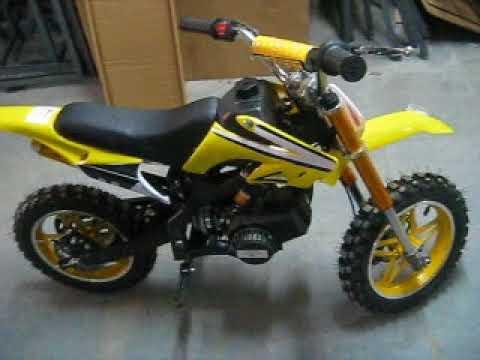 6af8b20b9dc Mini moto Cross BZ Arena 49cc - NF 5629 - YouTube