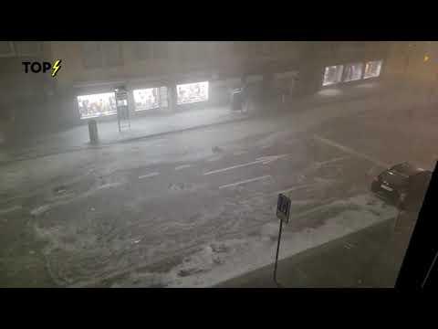 Unwetterschäden in Zürich nach heftigem Gewitter