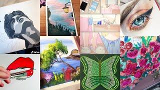 ART Tik Tok Compilation | 9 Minutes of Tiktok Artists Created