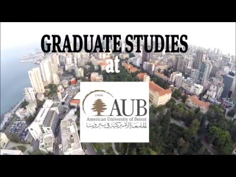Graduate Studies at AUB