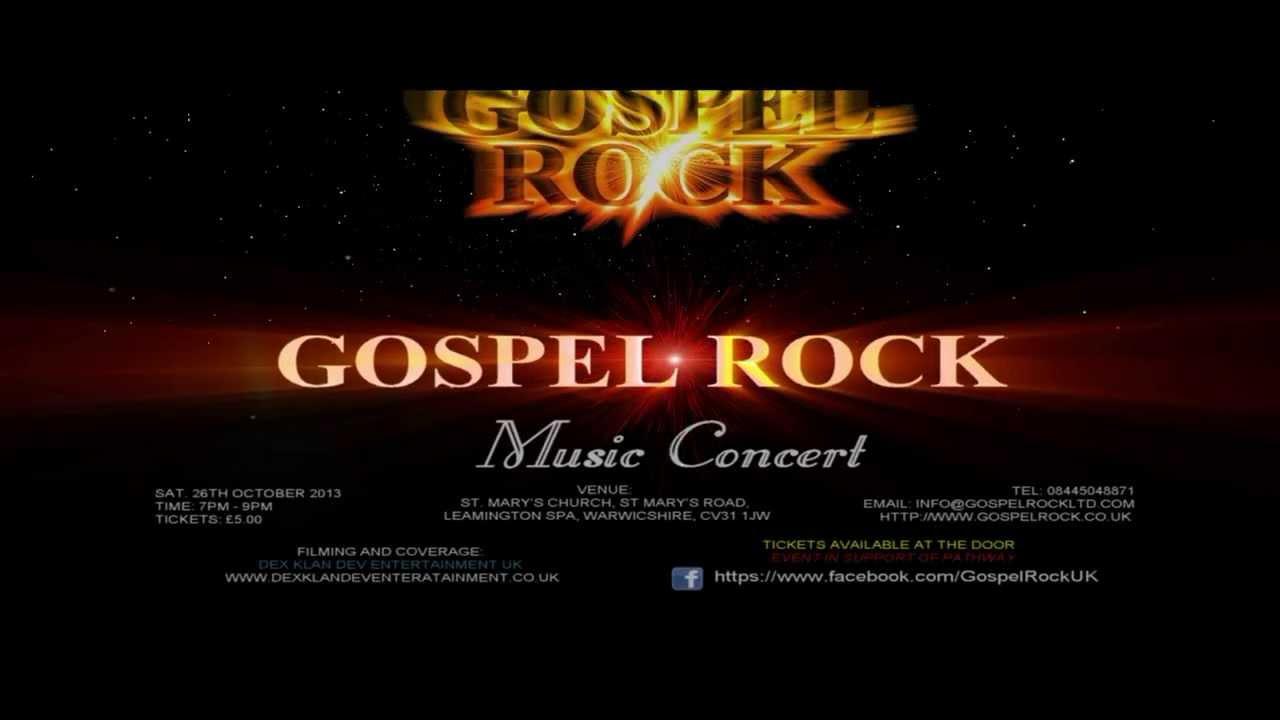 Gospel rock songs list
