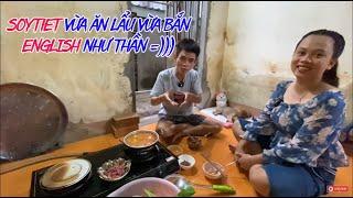 Soytiet Ăn Lẩu Bò Và Đàn Chó Con - Soytiet Cook Beef Hot Pot and Eat With Dogs