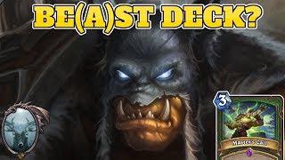 Beast Smorc Hunter | Best Meta Deck? | Rastakhan